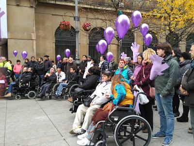 ACODIFNA participa en el día internacional en contra de la Violencia de género