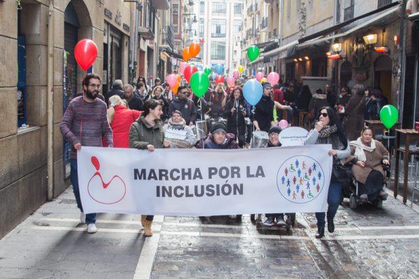 I Marcha por la inclusión